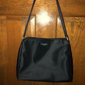 Kate Spade shoulder bag in black nylon